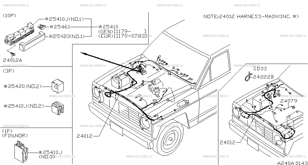 Scheme 240a01: Nissan Patrol Ac Wiring Diagram At Anocheocurrio.co