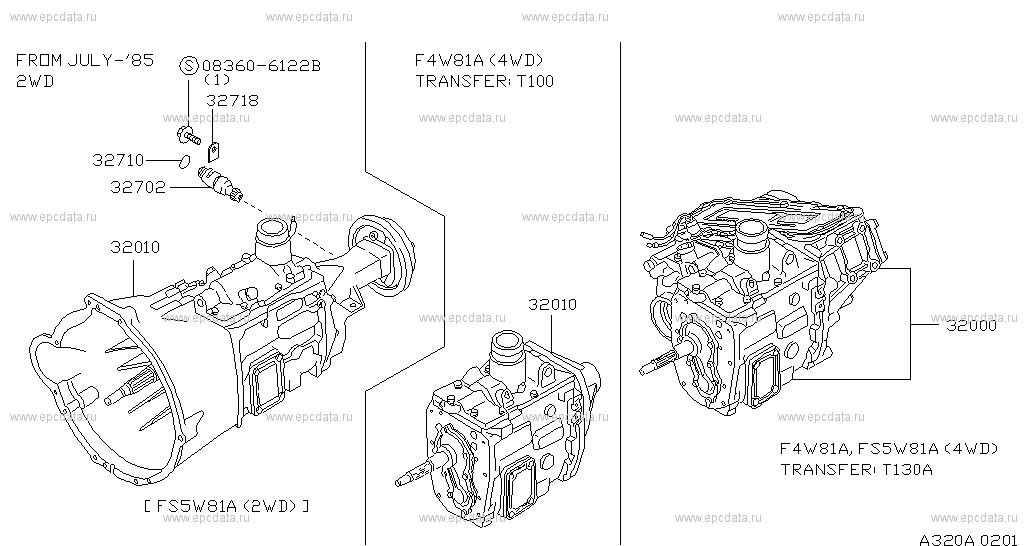 320 manual transmission transaxle fitting for patrol 160 nissan rh nissan europe epc data com nissan patrol manual transmission for sale nissan patrol manual gearbox