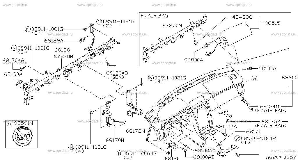 Nissan Cefiro A32 Fuse Box Diagram