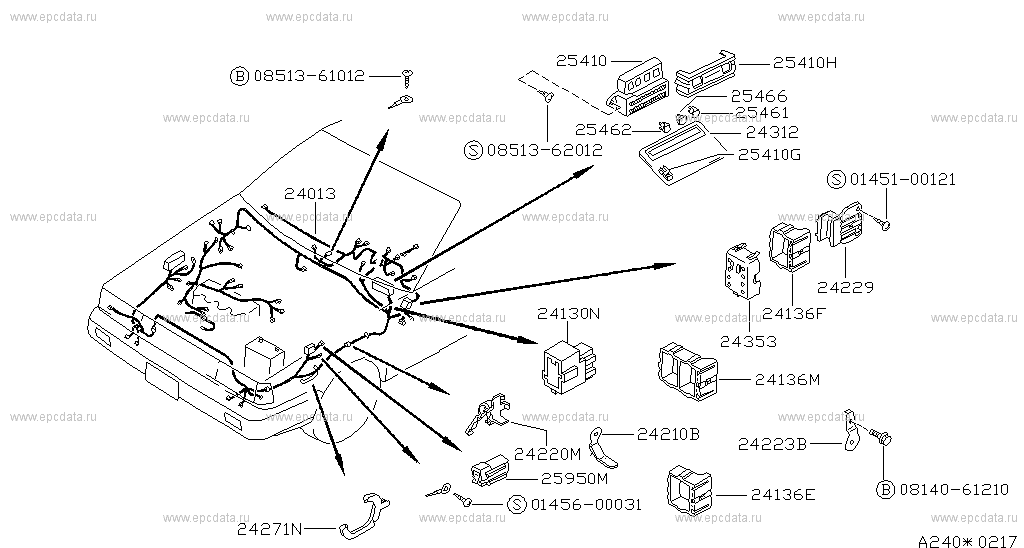 240 - WIRING for Sunny B12 Nissan Sunny - Auto parts Nissan B Wiring Diagram on nissan fuel system diagram, nissan schematic diagram, nissan ignition resistor, nissan distributor diagram, nissan repair diagrams, nissan battery diagram, nissan engine diagram, nissan main fuse, nissan brakes diagram, nissan diesel conversion, nissan repair guide, nissan radiator diagram, nissan transaxle, nissan suspension diagram, nissan electrical diagrams, nissan wire harness diagram, nissan fuel pump, nissan body diagram, nissan ignition key, nissan chassis diagram,
