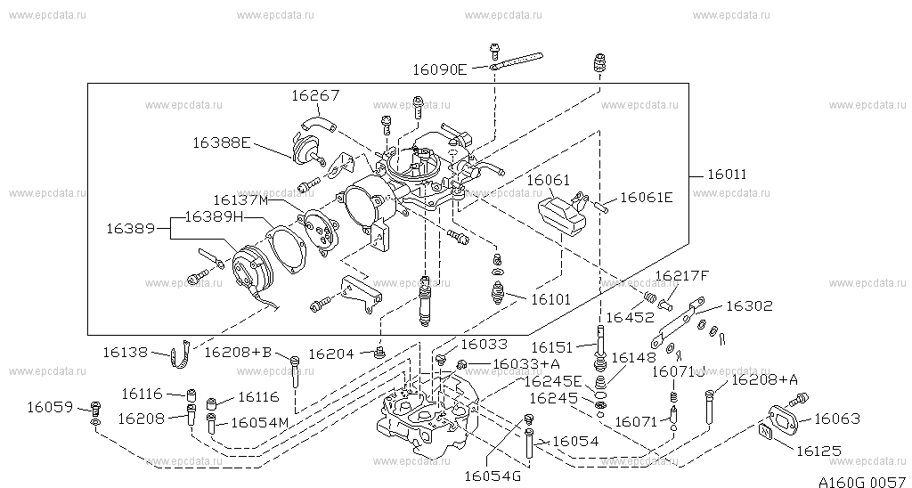 160 Carburetor For 100nx B13 Nissan 100nx Auto Parts