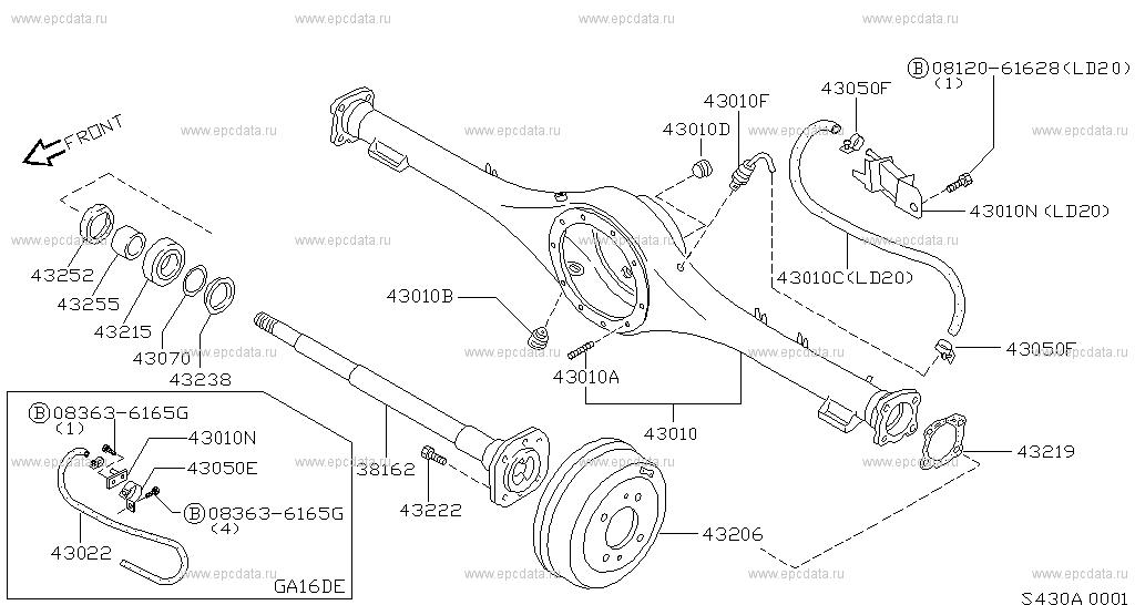 Ga16de Engine