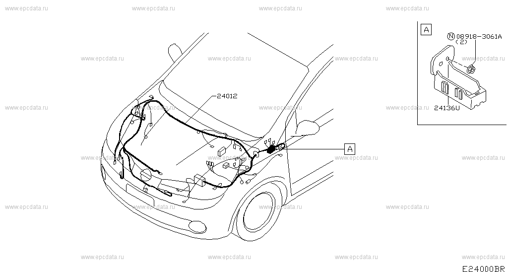 240 - wiring for note e11e nissan note