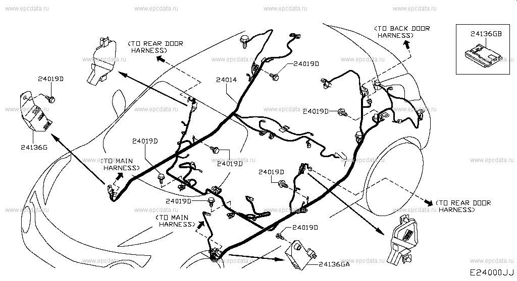 240 - Wiring For Juke F15e Nissan Juke