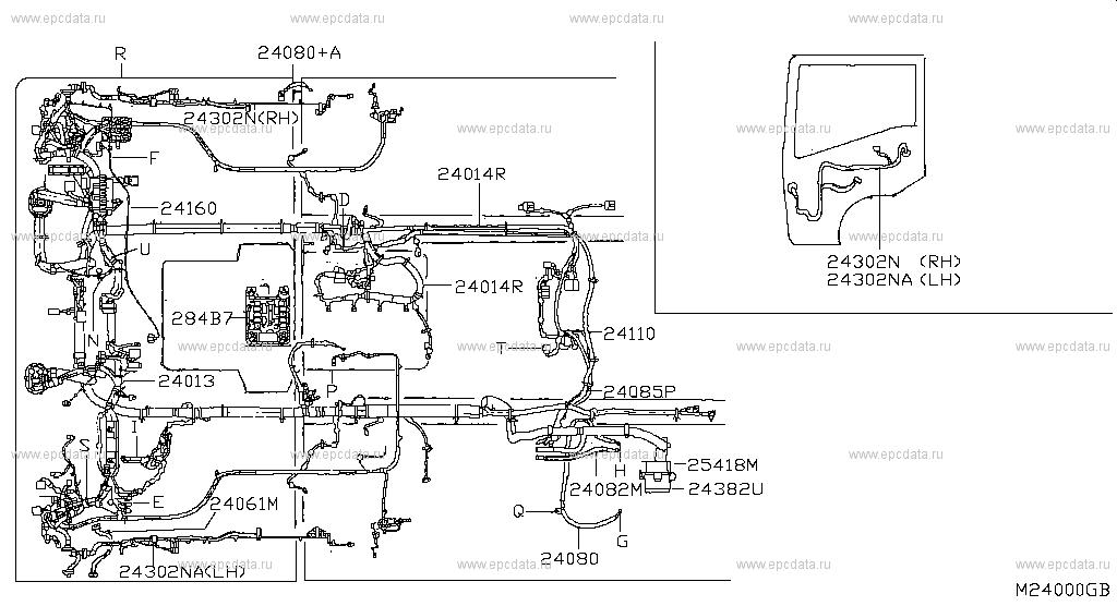 [SCHEMATICS_48IS]  240 - WIRING for Cabstar F24M Nissan Cabstar - Auto parts   Cabstar Fuse Box      Nissan parts catalog