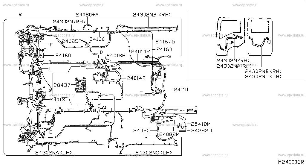 240 wiring for cabstar f24m nissan cabstar genuine parts rh nissan europe epc data com Nissan Urvan Nissan Atleon