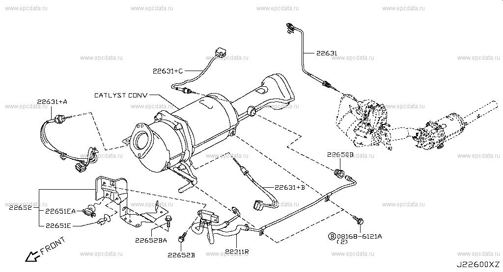 226 - engine control module for qashqai j10e nissan qashqai