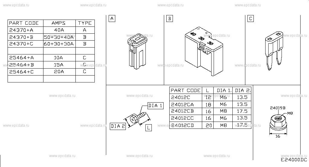 240 - WIRING for Qashqai J10E Nissan Qashqai - Auto parts Nissan Connect Wiring Diagram on