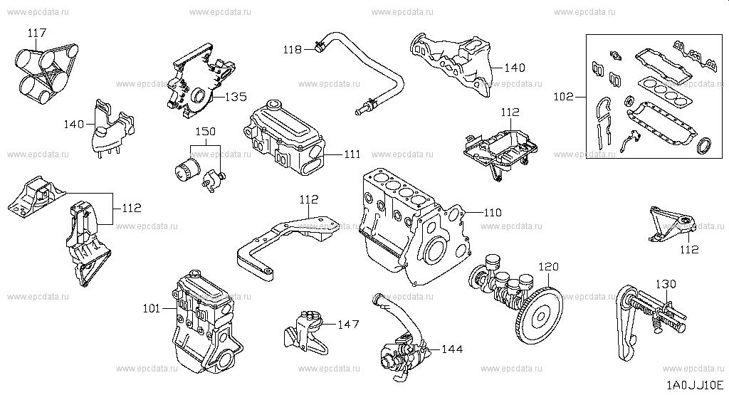 engine mechanical  qashqai   period  jje frame auto parts