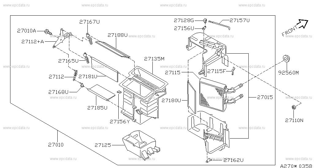 Nissan Almera Heater Wiring Diagram on