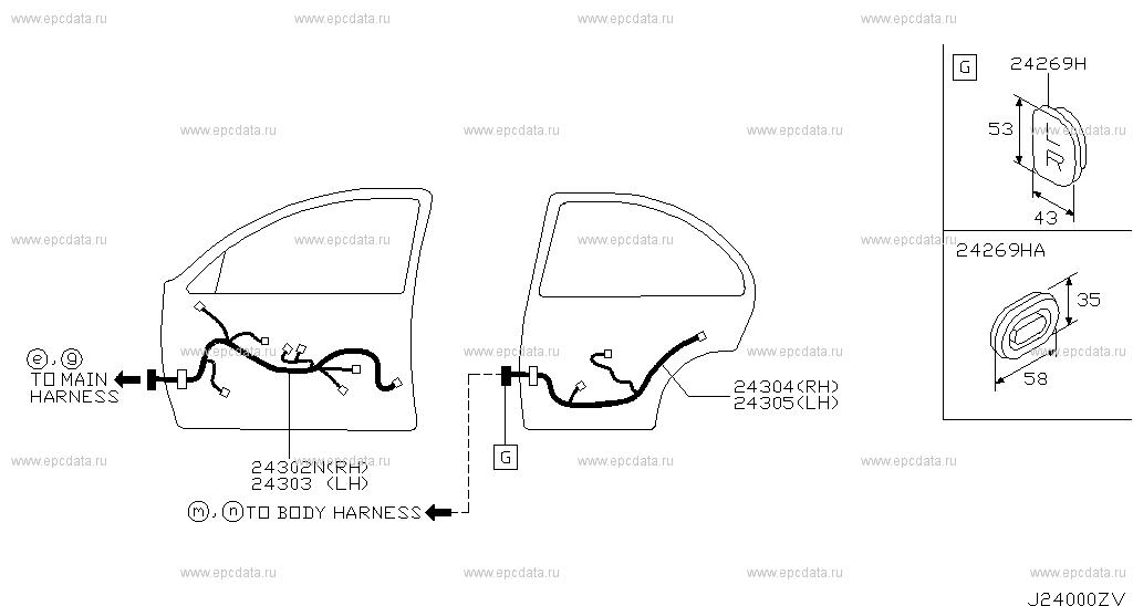240 - Wiring For Almera N16 Nissan Almera