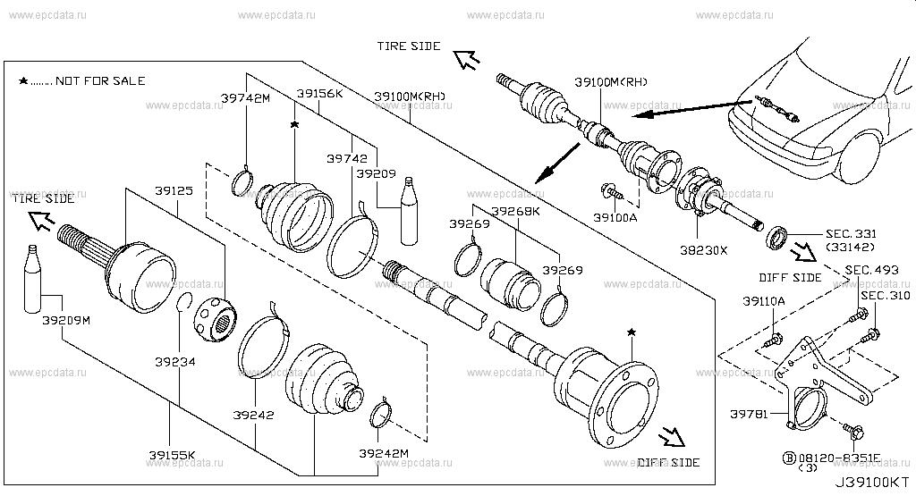 Nissan Repair Diagram