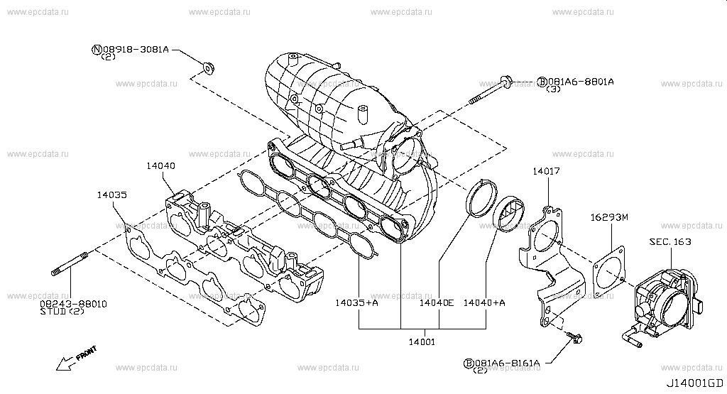 Qr25de Engine Diagram