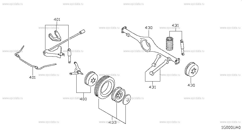 Axle & suspension