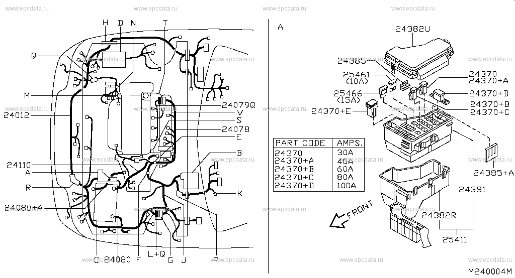 240 - WIRING for Almera Tino V10M Nissan Almera Tino ... Nissan Almera Wiring Harness on nissan brakes, nissan fuel pump, nissan fuse, nissan radiator, nissan headlights, nissan lights, nissan timing belt, nissan transformer, nissan speedometer, nissan starter, nissan oil filter, nissan throttle body, nissan water pump, nissan body harness, nissan alternator, nissan ecu, nissan engine, nissan timing chain, nissan radio harness, nissan exhaust,