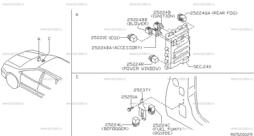 Nissan Almera Tino Engine Diagram