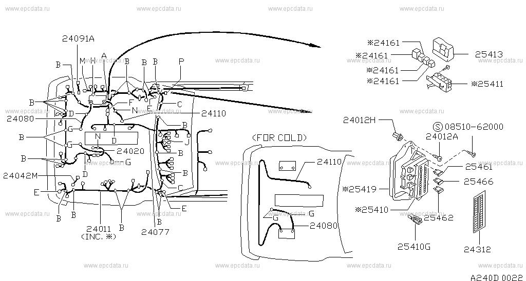 240 wiring for patrol y60 nissan patrol genuine parts dodge durango wiring harness scheme 240__d01 scheme 240__d02