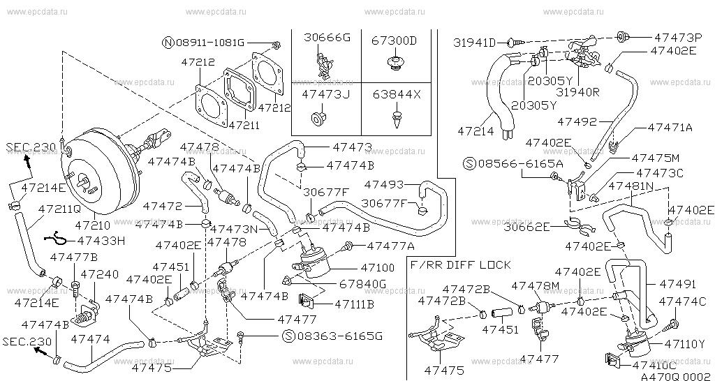 470 brake servo servo control for patrol y60 nissan. Black Bedroom Furniture Sets. Home Design Ideas