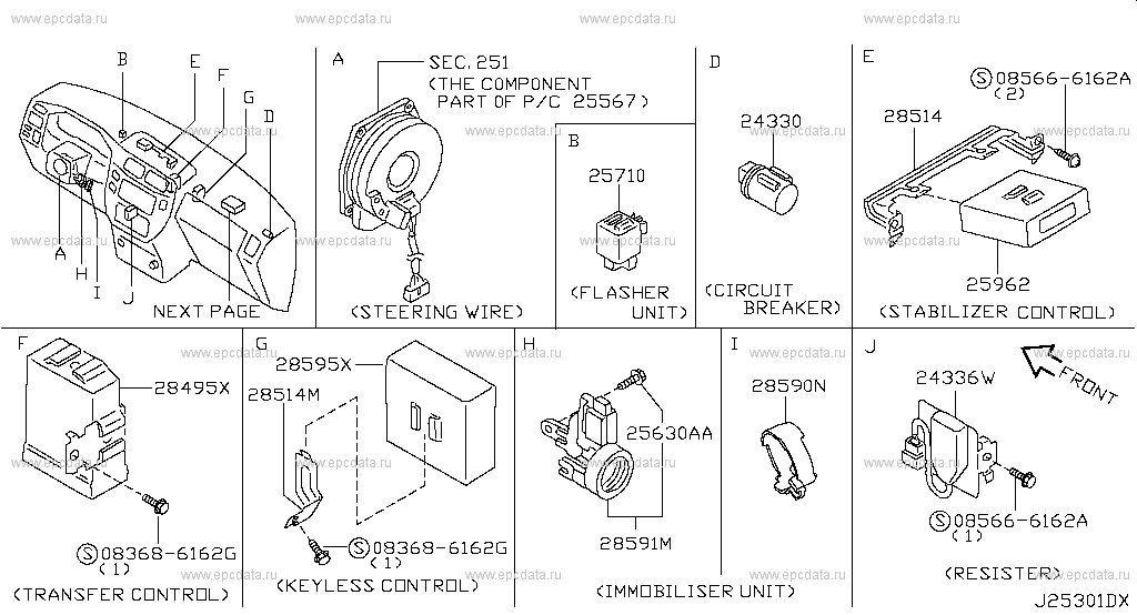 Air Bag Pressor Wiring Diagram 1999 Nissan Frontier Fuse