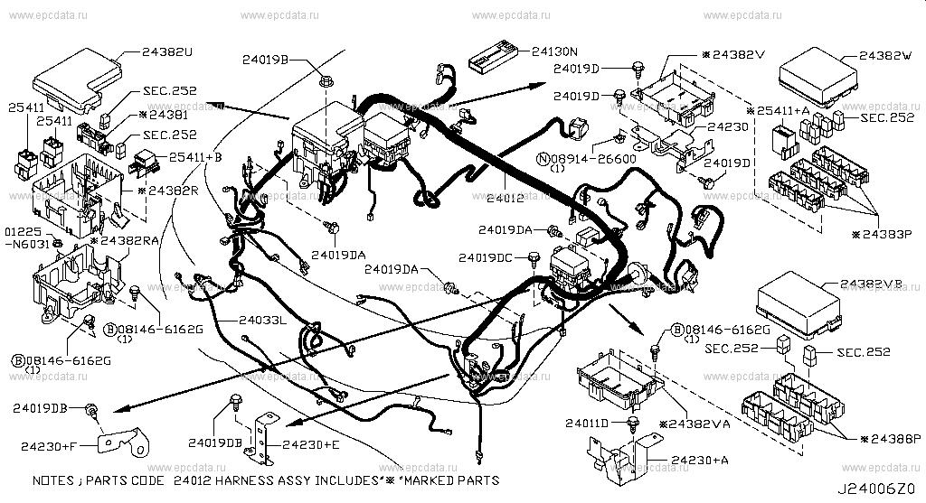 Scheme 240a001: Nissan Patrol Fuse Box At Kopipes.co