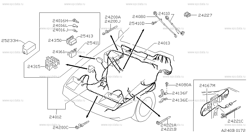 Open Full Screen Picture Up To The Top 24012 Harnessengine Room: Z31 Engine Wiring Harness At Gundyle.co